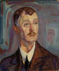 John Masefield by American Artist Jerome Blum 1918