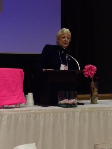 Dorothy Klass is an inspirational speaker.
