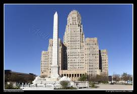 McKinley Monument and Buffalo City Hall