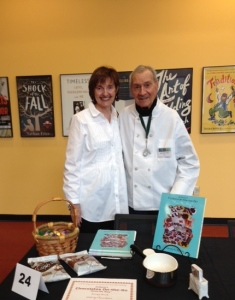 Assisting your best friend (and husband) at the Desert Writers Expo