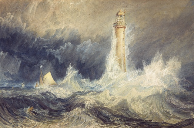 Watercolour of the Lighthouse by J.M.W. Turner 1819 (enwikipedia.org)