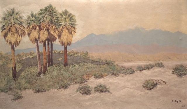 Desert Near Palm Springs by Carl Eytel
