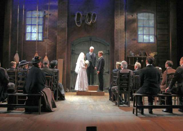 "Scene from ""Our Town"" by Thornton Wilder"