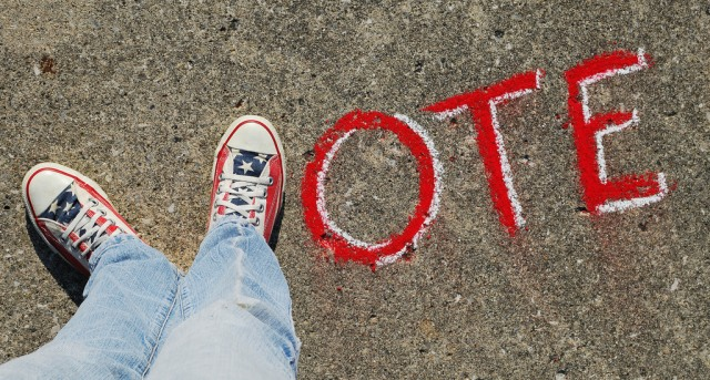 Voting isn't a one time thing. (Image courtesy of Associated Press)
