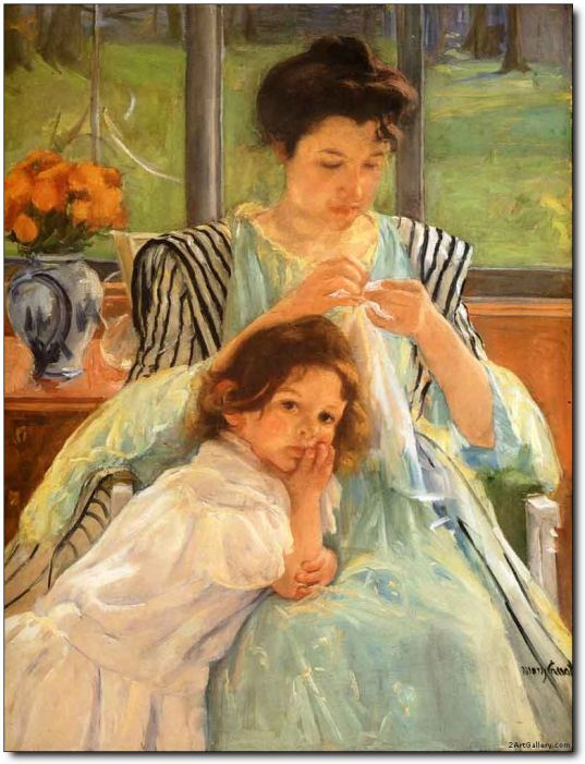 young-mother-sewing-1900