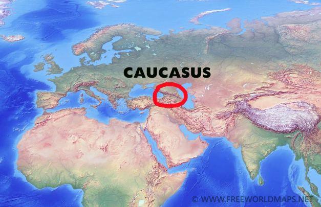 caucasus-location